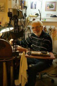 Nikos VASSILARAS Jewellery Creationsat-the-workshop-jewellery-creations