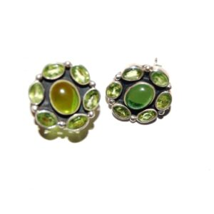 Diopsite green earrings Price normal