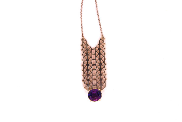 Pendant Geometrical with Amethyst Price 750
