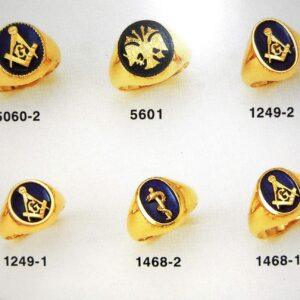 Rings symbolic jewellery selection with Enamel in Gold K18 handmade Price by sending an E mail the Nr. of the project
