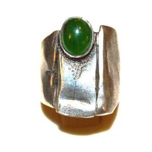 Silver Ring Jade