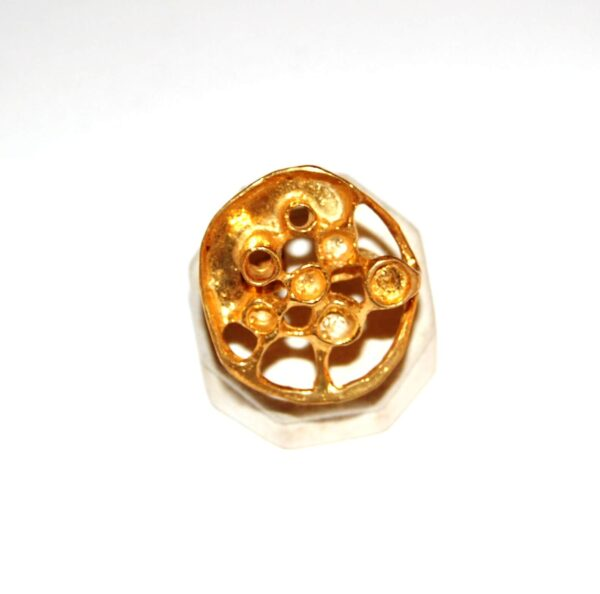 Silver Goldplated Ring