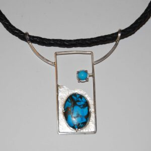 Nacklace Turquoise silver