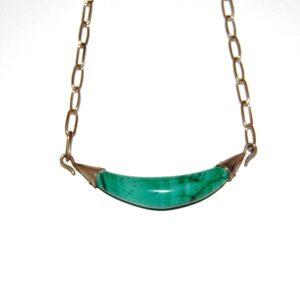 Nacklace Malachite